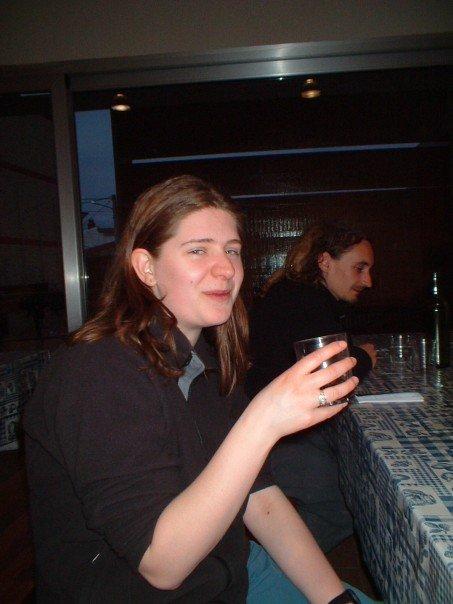 Anne and Brantz at Azofra