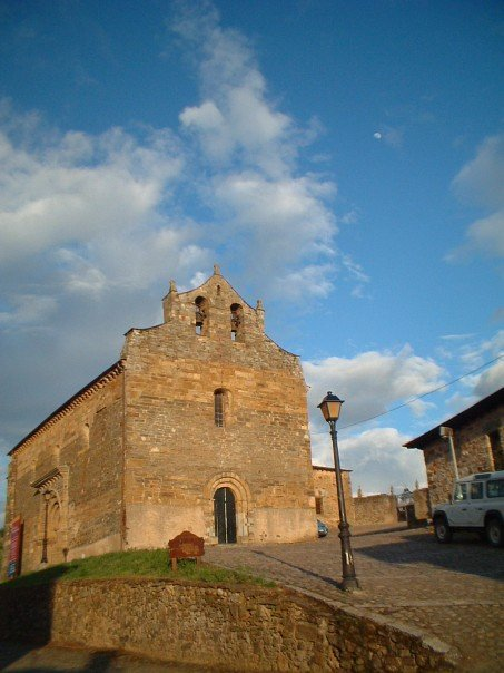 The church of Santiago in Villafranca del Bierzo