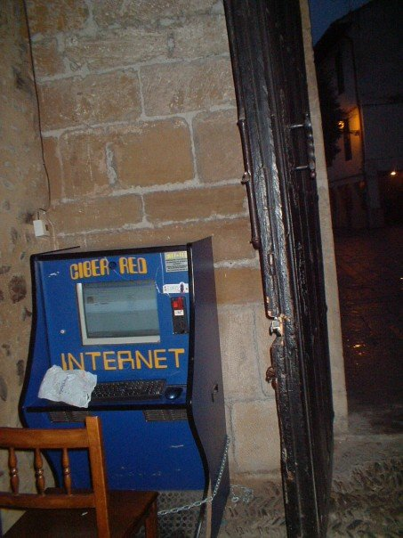 New technology in an ancient building