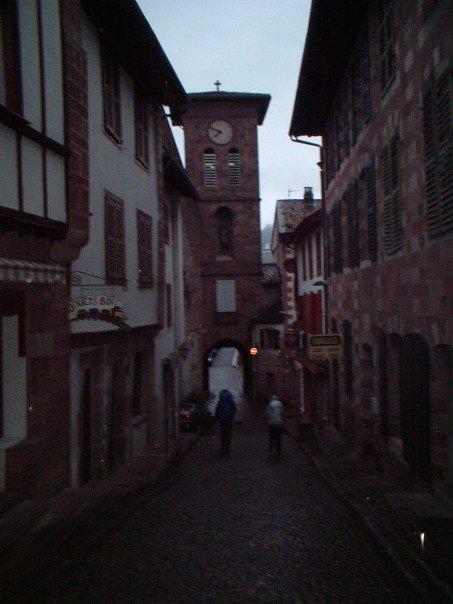 Leaving St-Jean-Pied-de-Port