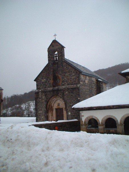 Capilla de Santiago at Roncesvalles