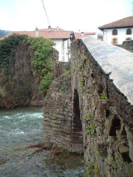The bridge at Zubiri