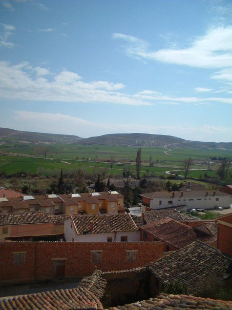 The rooftops of Castrojeriz
