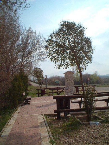 Entering Palencia