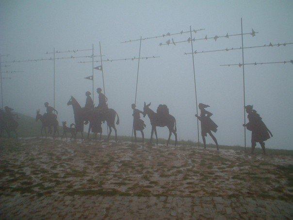 Pilgrim silhouettes