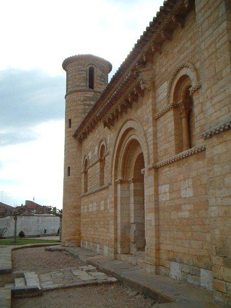 The church of San Martín at Frómista