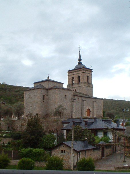 The church at Molinaseca
