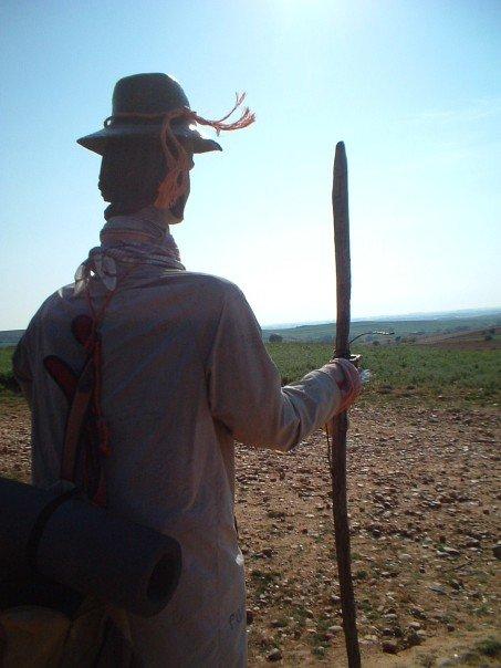 Pilgrim statue/scarecrow