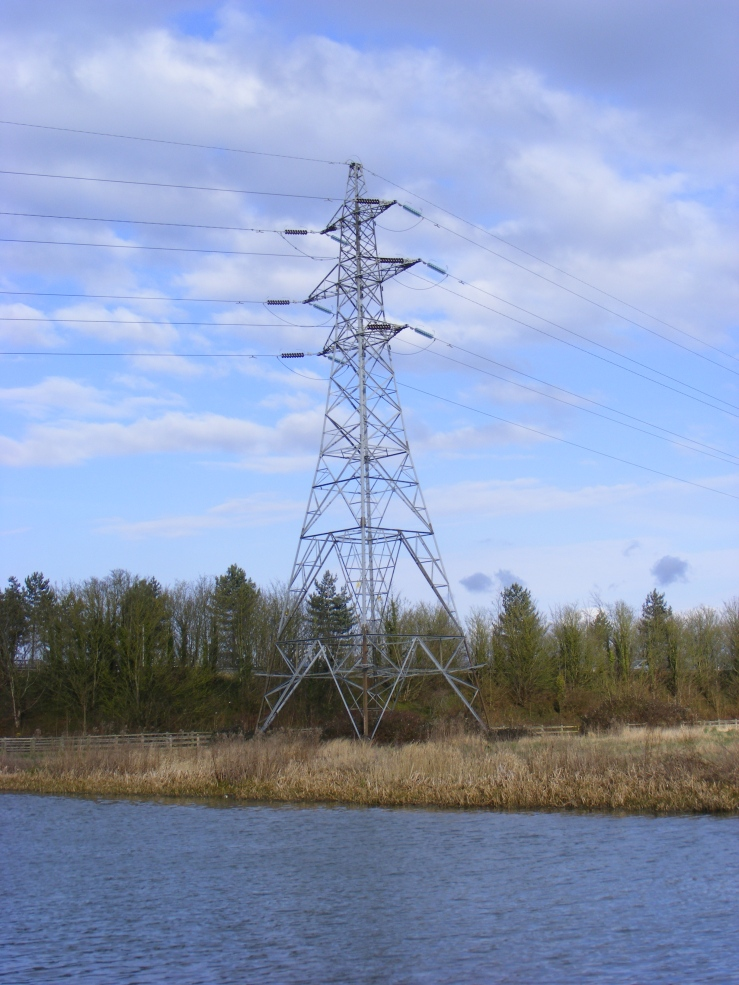 Here is that picture of the electricity pylon that I was telling you about