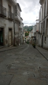 The churches and streets of Betanzos